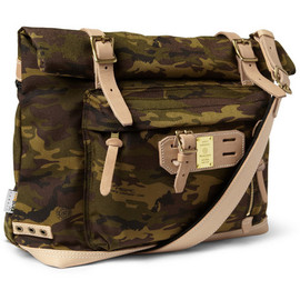 masterpiece - Master-Piece Surpass Leather-Trimmed Camouflage Nylon Tote Bag