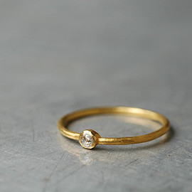 SOURCE - 2mm Rosecut Diamond Ring