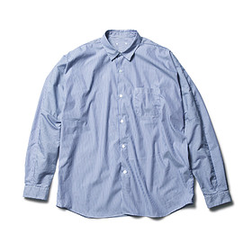 SOPHNET. - WIDE SLEEVE REGULAR COLLAR SHIRT