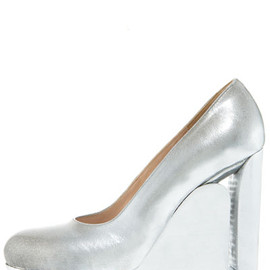 Maison Martin Margiela - Cutout-Wedge Illusion Pump