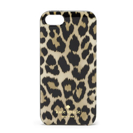 kate spade NEW YORK - CARRYOVER LEOPARD IKAT IPHONE RESIN CASE /iPhone5