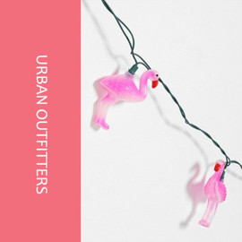 urban outfitters - フラミンゴのライト