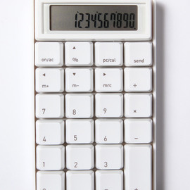 SAM HECHT - 10 KEY CALCULATER WHITE