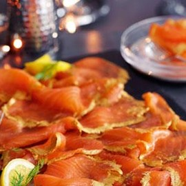 Marks & Spencer - Whisky Gold Scottish Smoked Salmon