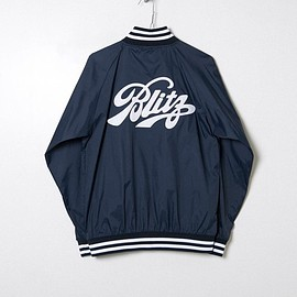FORTY PERCENTS AGAINST RIGHTS - BLITZ / APPLIQUE BENCH JACKET