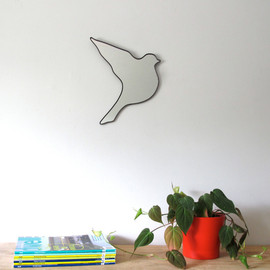 fluxglass - Flying Bird Wall Mirror