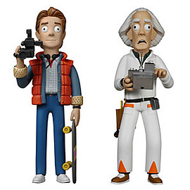 ThinkGeek - Vinyl Idolz: Back to the Future