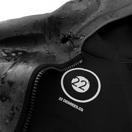 22 Degrees - Ocean Jacket - Black