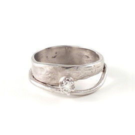 "IOSSELLIANI - WEDDING RING ""AMORE(愛)"""