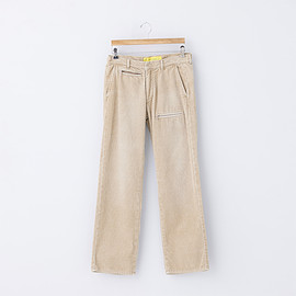 "NECESSARY or UNNECESSARY - Zip Trousers ""Cord"""
