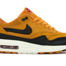 Nike - NIKE AIR MAX 1 CANYON GOLD/BLACK-UNIVERSITY RED