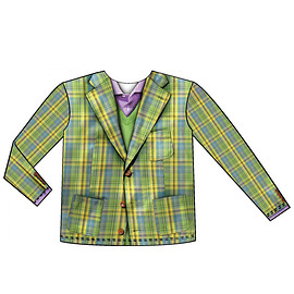 faux real - Youth Size Plaid Suit