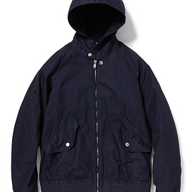"nonnative - TRAINER HOODED BLOUSON C/N TUSSAH WITH ""WINDSTOPPER® 2L"""