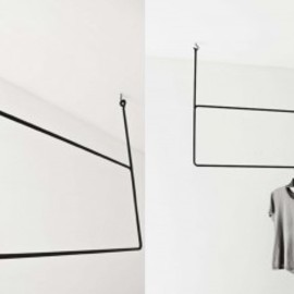 The Minimalist - The Minimalist x rectangular clothing rail