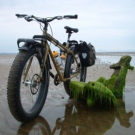 SURLY - Surly Pugsley at Aberlady Bay