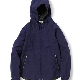 nonnative - EXPLORER HOODED JACKET - NYLON RIPSTOP GORE-TEX® PACLITE 2.5L