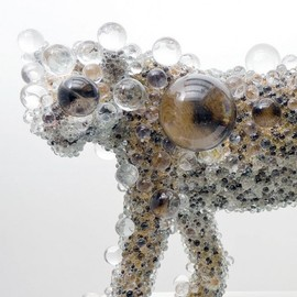 Kohei Nawa - Panther, Beads of Crystal
