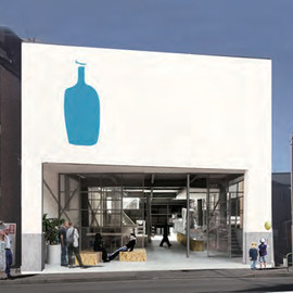 清澄白河 - Blue Bottle Coffee | Blue Bottle's location in Kiyosumi-shirakawa, Tokyo