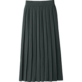 Uniqlo U - Extra Fine Merino Pleated Skirt
