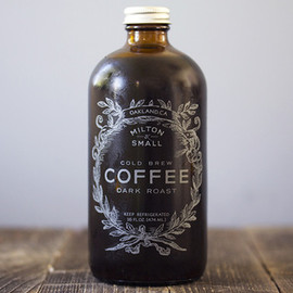 Milton & Small -  cold brew coffee dark roast