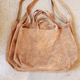 GHOST DANCE - SUEDE TOTE BAG