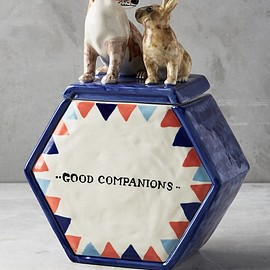 Anthropologie - Good Companions Cookie Jar