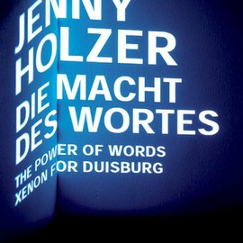 Jenny Holzer - Die Macht Des Wortes / I Can't Tell You