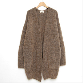 UNFIL - STRETCH SUPERKID MOHAIR CARDIGAN