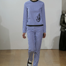 J.W. Anderson - 2012 S/S STRIPED SHIRT&STRIPED TROUSERS