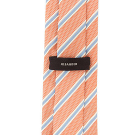 JIL SANDER - Tie in Orange & Blue