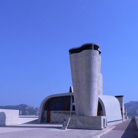 Le Corbusier - Cite Radieuse rooftop, Marseille, France