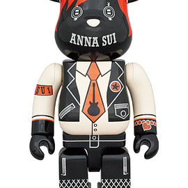 MEDICOM TOY - BE@RBRICK ANNA SUI RED & BEIGE 1000%