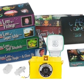 Lomography - Diana F+ Buttercup - Deluxe Kit