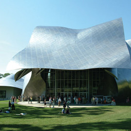 Fisher Center for the Performing Arts at Bard College - Frank Owen Gehry