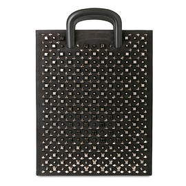 Christian Louboutin - TRICTRAC LARGE SPIKES BLACK
