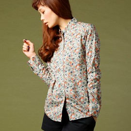 FRED PERRY - Liberty Printed Shirt