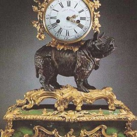 Madame Pompadour - A musical watch with rhinoceros