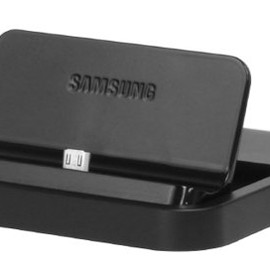 Samsung - GALAXY Multimedia Desktop Dock & Wall Charger for Galaxy Note