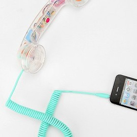 Native Union - Pop Phone Handset - Clear