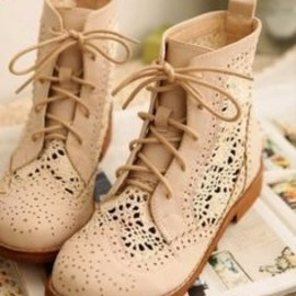 Cute vintage lace boots for women | Fashion and styles