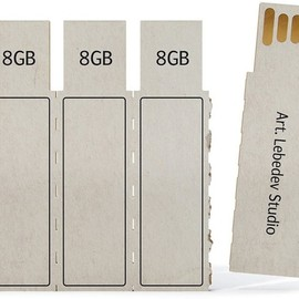 Russian design studio - Cardboard USB Flash-Drives