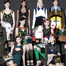 PRADA - SS2014 Ad Campaign by STEVEN MEISEL