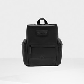 HUNTER - Original Top Clip Backpack - Rubberised Leather