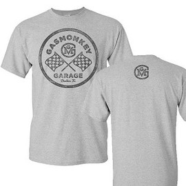 Gas Monkey Garage - Checkered Flag Tee