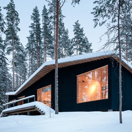 Playa Architects - Villa Kettukallio, lake house, Hirvensalmi, Sweden