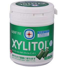 LOTTE - XYLITOL ライムミント