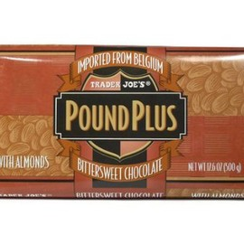 Trader Joe's - POUND PLUS Bittersweet Chcolate with Almonds