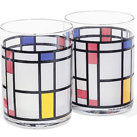 MoMA - Mondrian Tumbler by Frank LIoyd Wright
