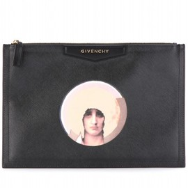 GIVENCHY - Antigona printed faux leather clutch