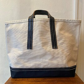 LABOR DAY - HORSE LEATHER HANDLE CARGO BAG